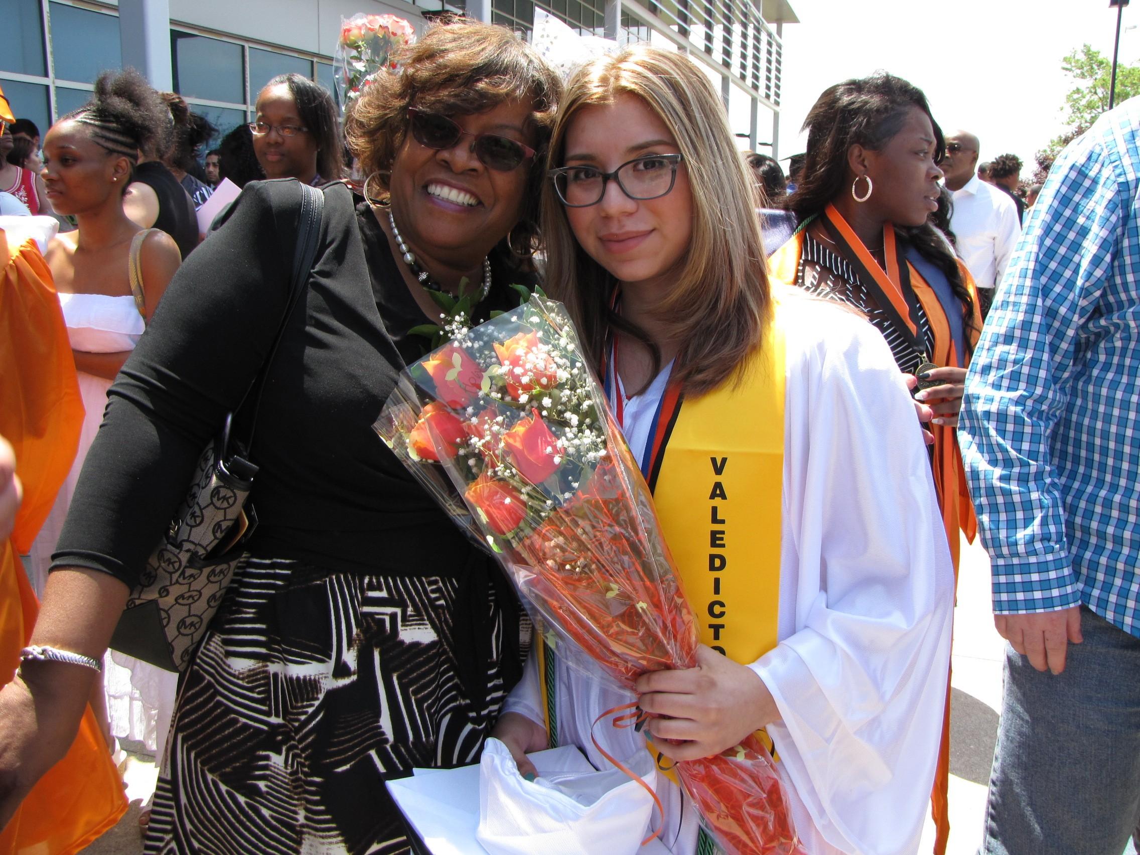 Teen Mother in Options Program Is Valedictorian