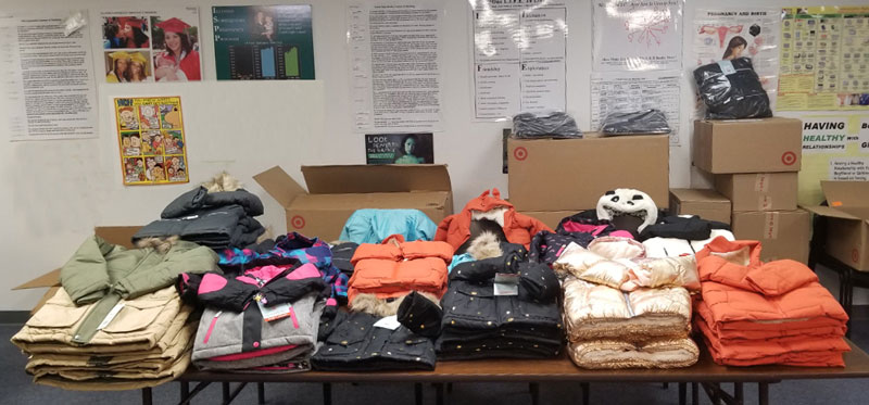 Logan Foundation Provides Warm Coats